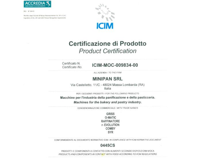 MINIPAN IS A MOCA CERTIFIED COMPANY